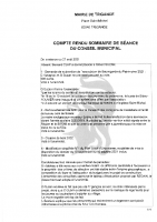 Conseil Municipal du 27 août 2021 (compte-rendu)