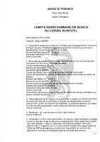 Conseil Municipal du 5 mai 2021 (compte-rendu)