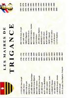 MAIRES DE TRIGANCE